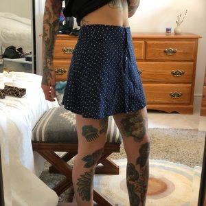 H&M Polka Dot Mini Skirt